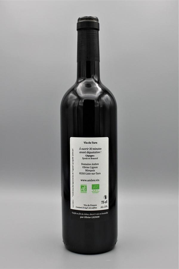 domaine Ambre biodynamie vin rouge naturel Origine - Tarn 81